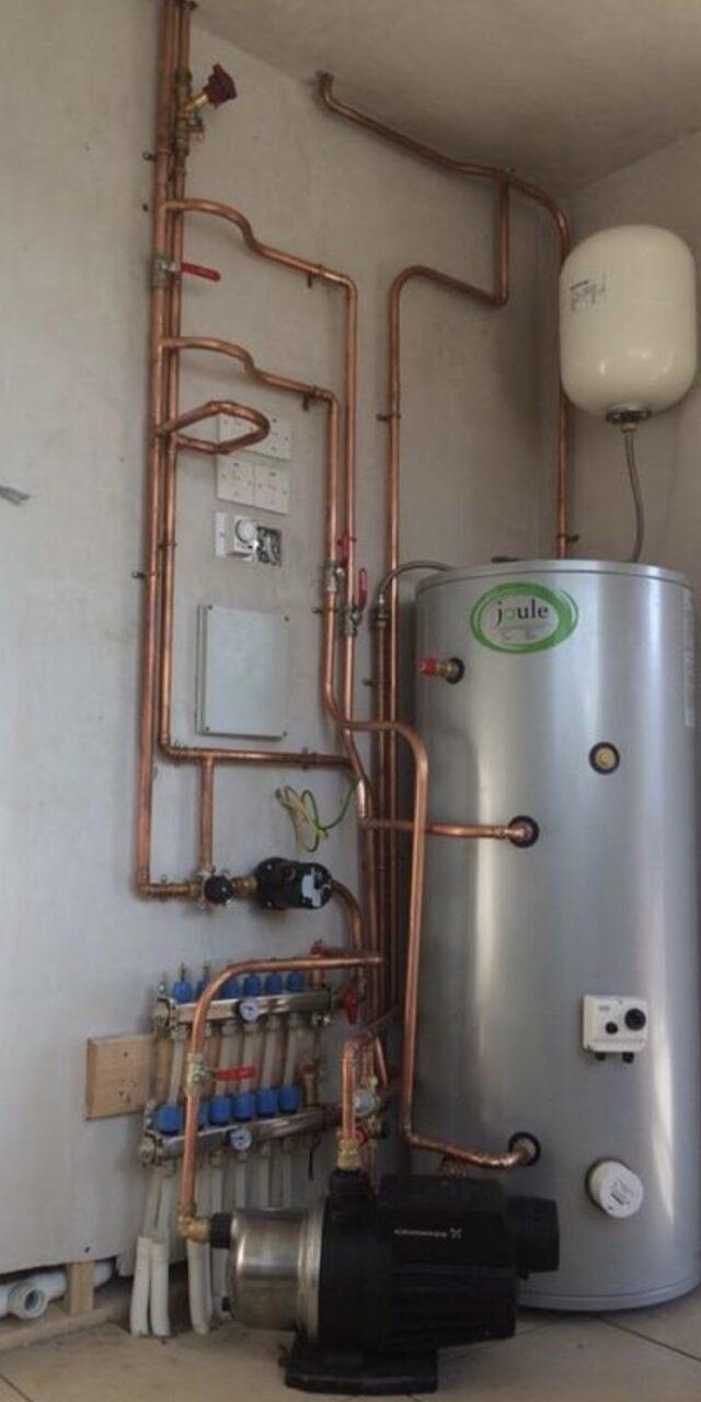 service gas boiler